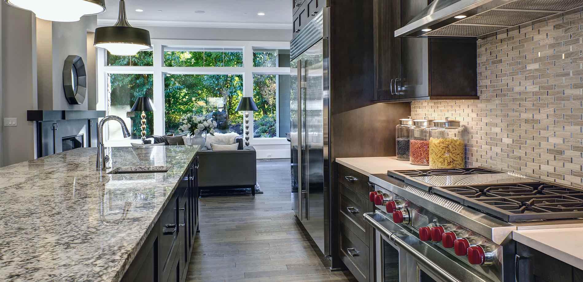 granite countertops, tile & stone flooring, kitchen & bath
